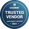crozdesk badget - high market presence