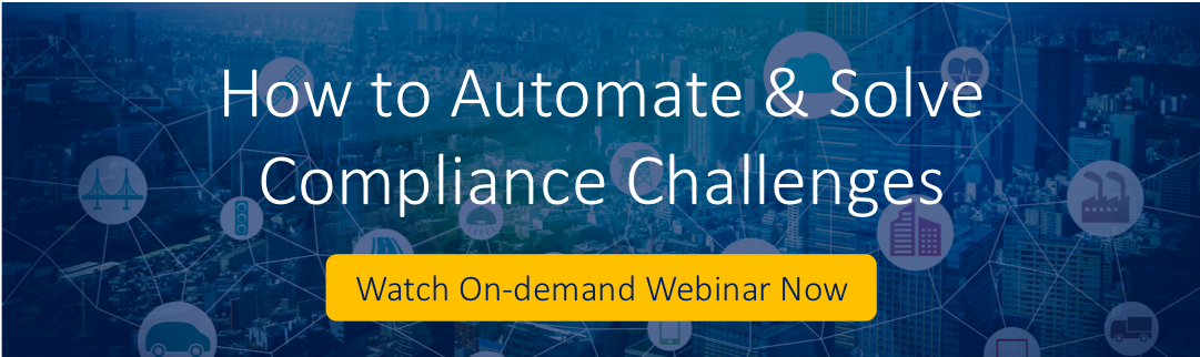 [On-demand webinar] How to Automate & Solve Compliance Challenges